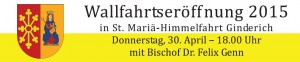 Wallfahrt 2015