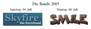 Bands 2015